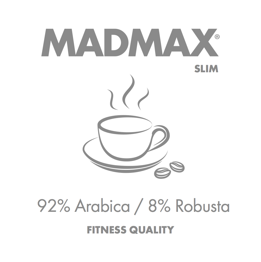 SLIM coffee 92% arabica, 8% robusta