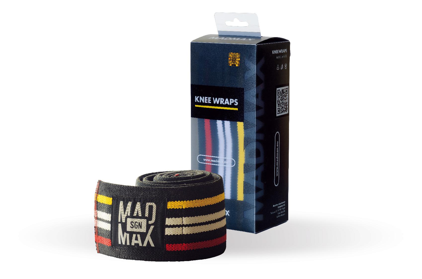 MAD MAX MFA-292 knee wraps