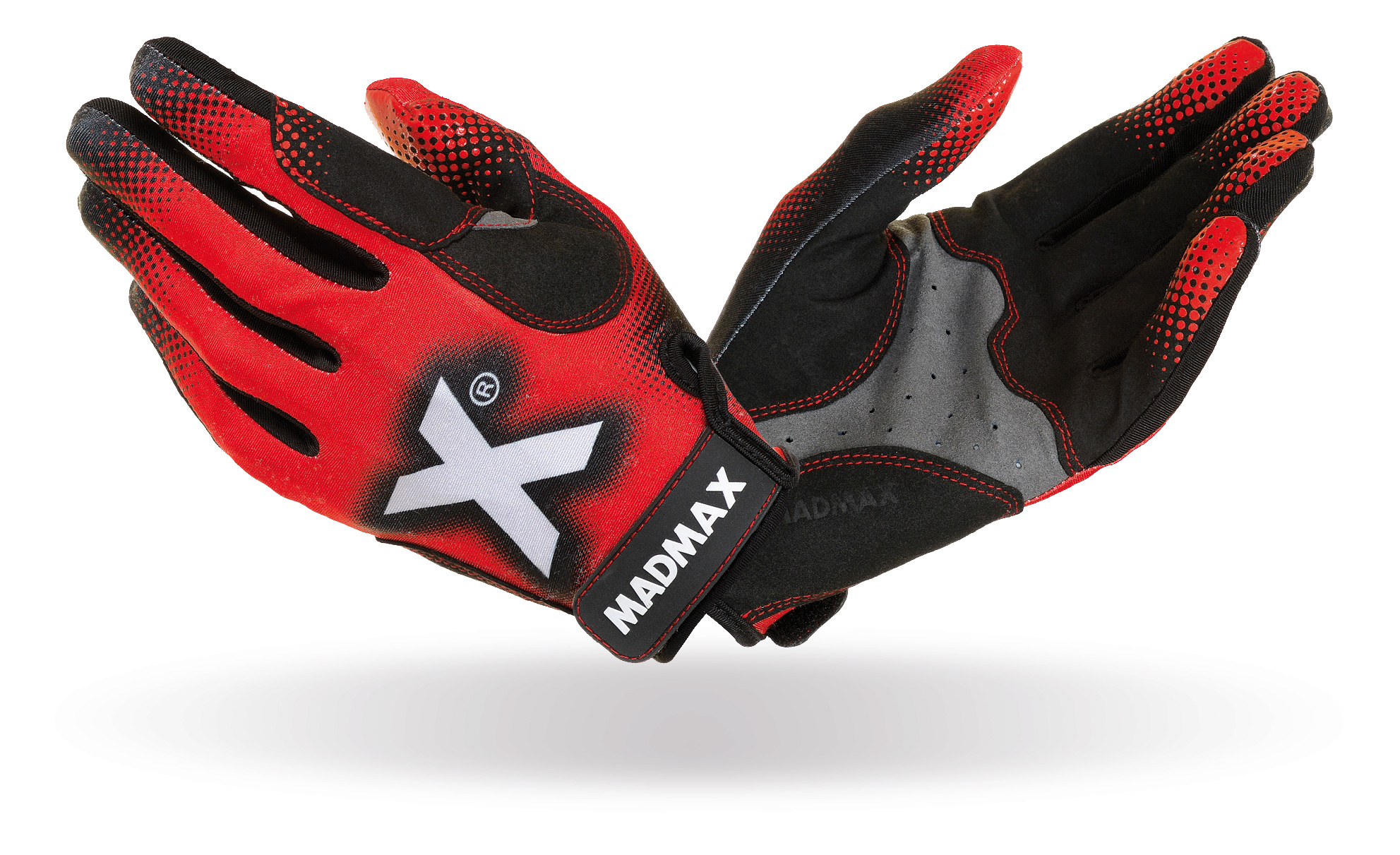 MAD MAX MXG-101 crossfit x gloves red