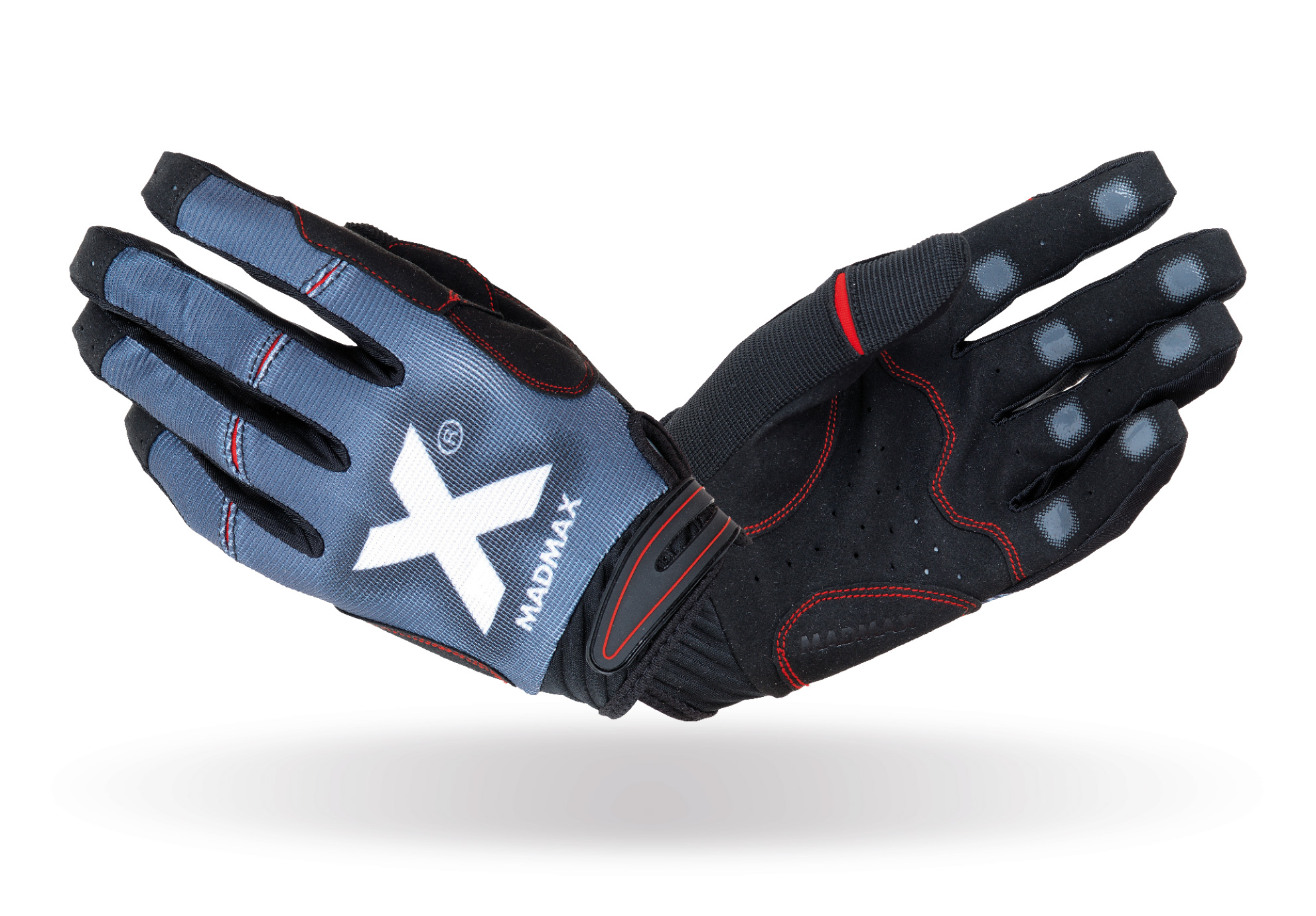 MAD MAX MXG-102 crossfit x gloves grey