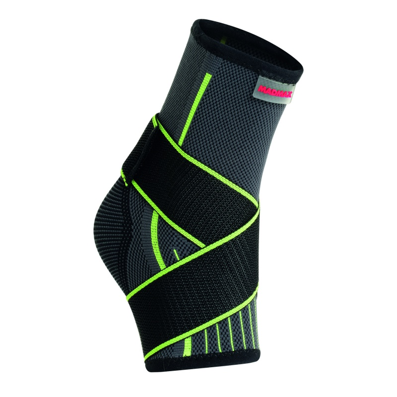3D Compressive ankle support with strap