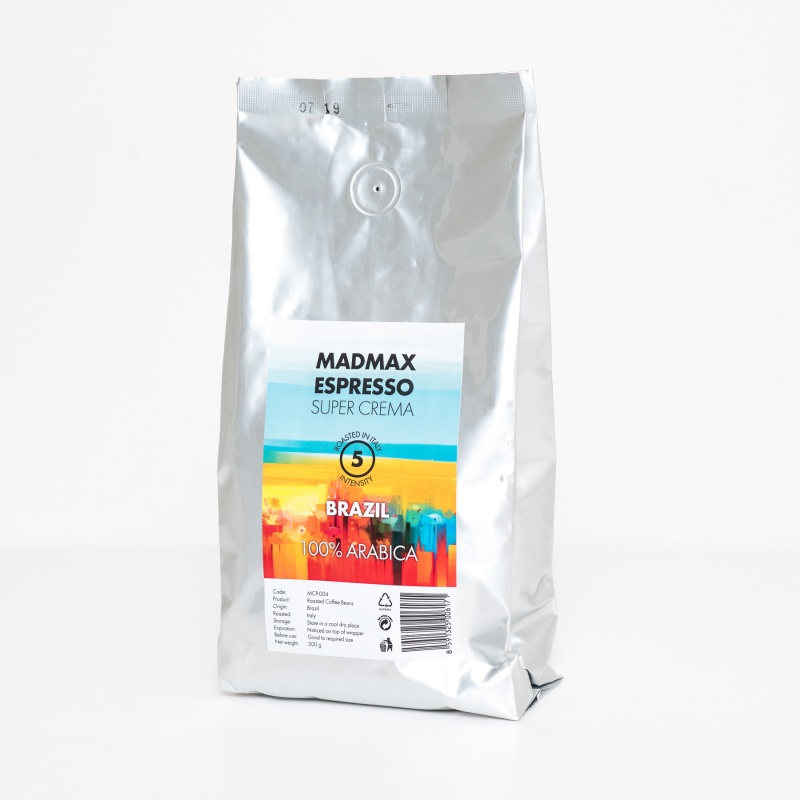 WORKOUT coffee 100% Arabica 500g