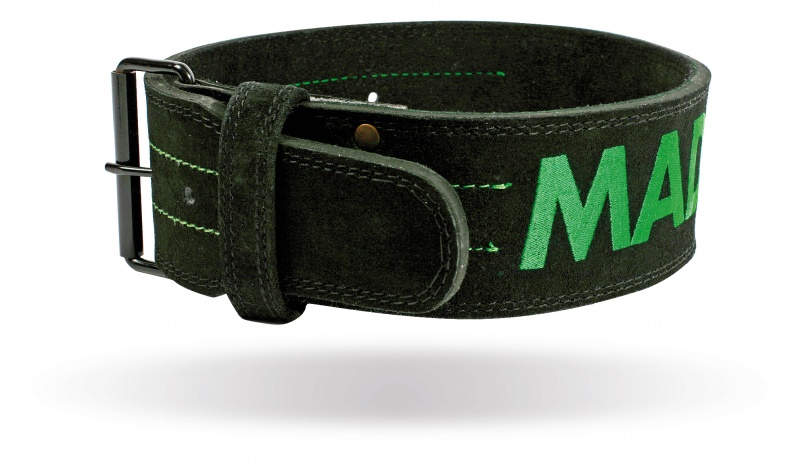 """MAD MAX MFB-301 Suede Single Prong belt - 4"""" 10 mm"""