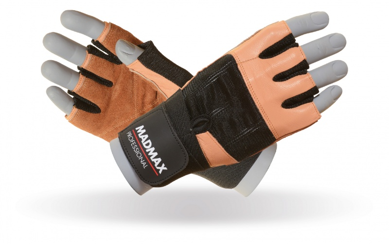 MAD MAX MFG-269 professional brown gloves