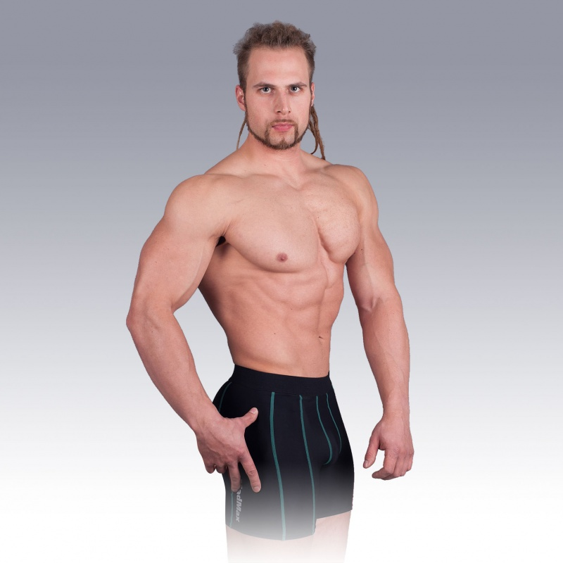 MSW-905 Compression Shorts Green