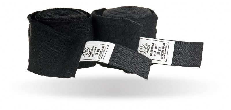 MAD MAX MBA-001 Bandages for Box Black (4 m)