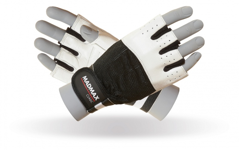 MAD MAX MFG-248 clasic white gloves