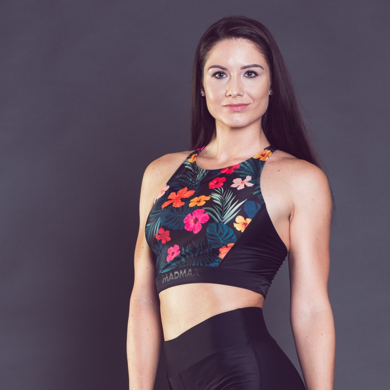MADMAX Flower Power Crop Top