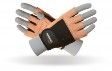 MAD MAX MFG-444 fitness brown gloves