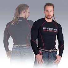 MSW-902 Compression Long Sleeve Top Red