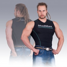 MSW-904 Compression Sleeveless Top Green