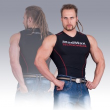 MSW-904 Compression Sleeveless Top Red