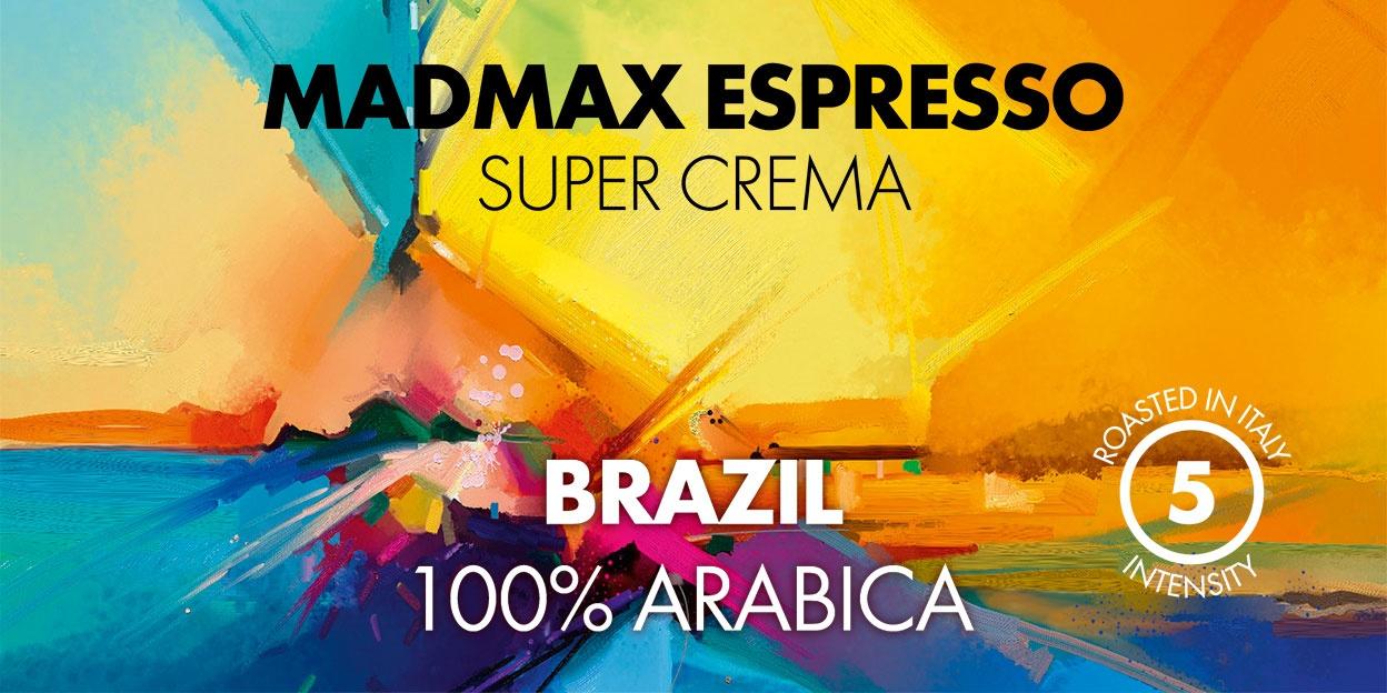 MADMAX ESPRESSO SUPERCREAMA